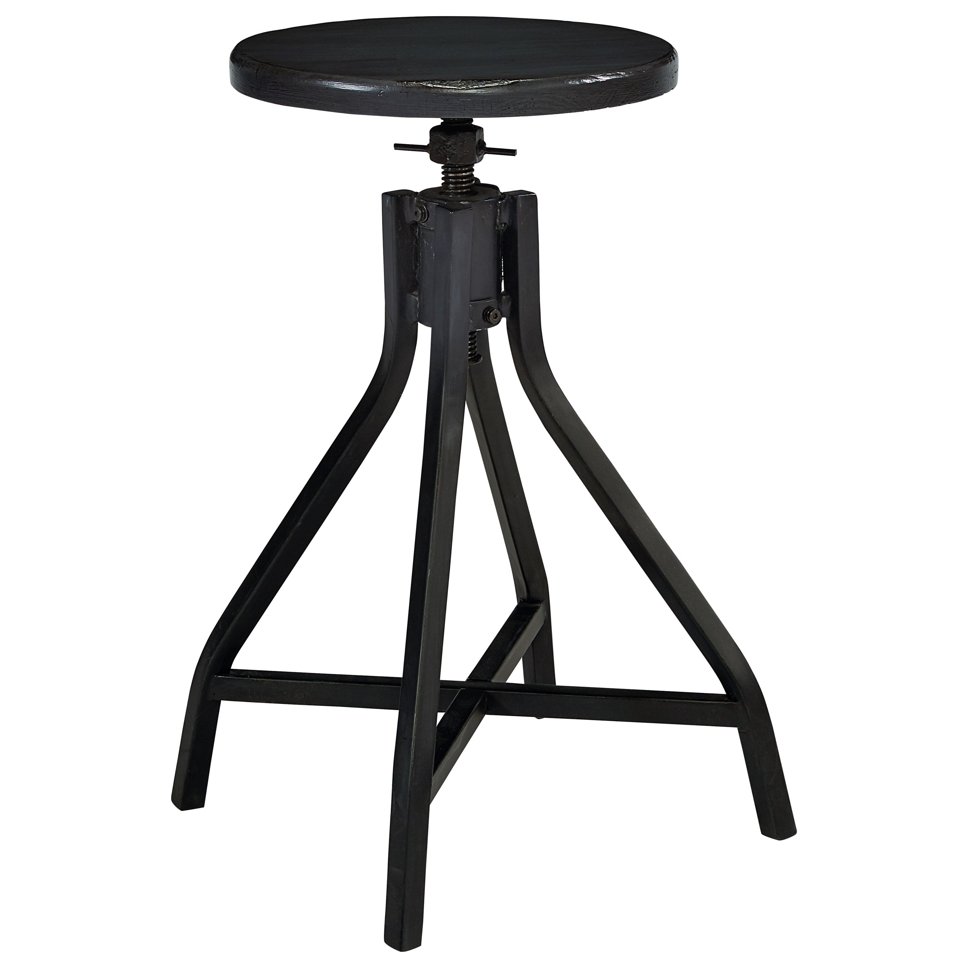 Magnolia Home by Joanna Gaines Accent Elements Industrial Stool - Item Number: 8030104C