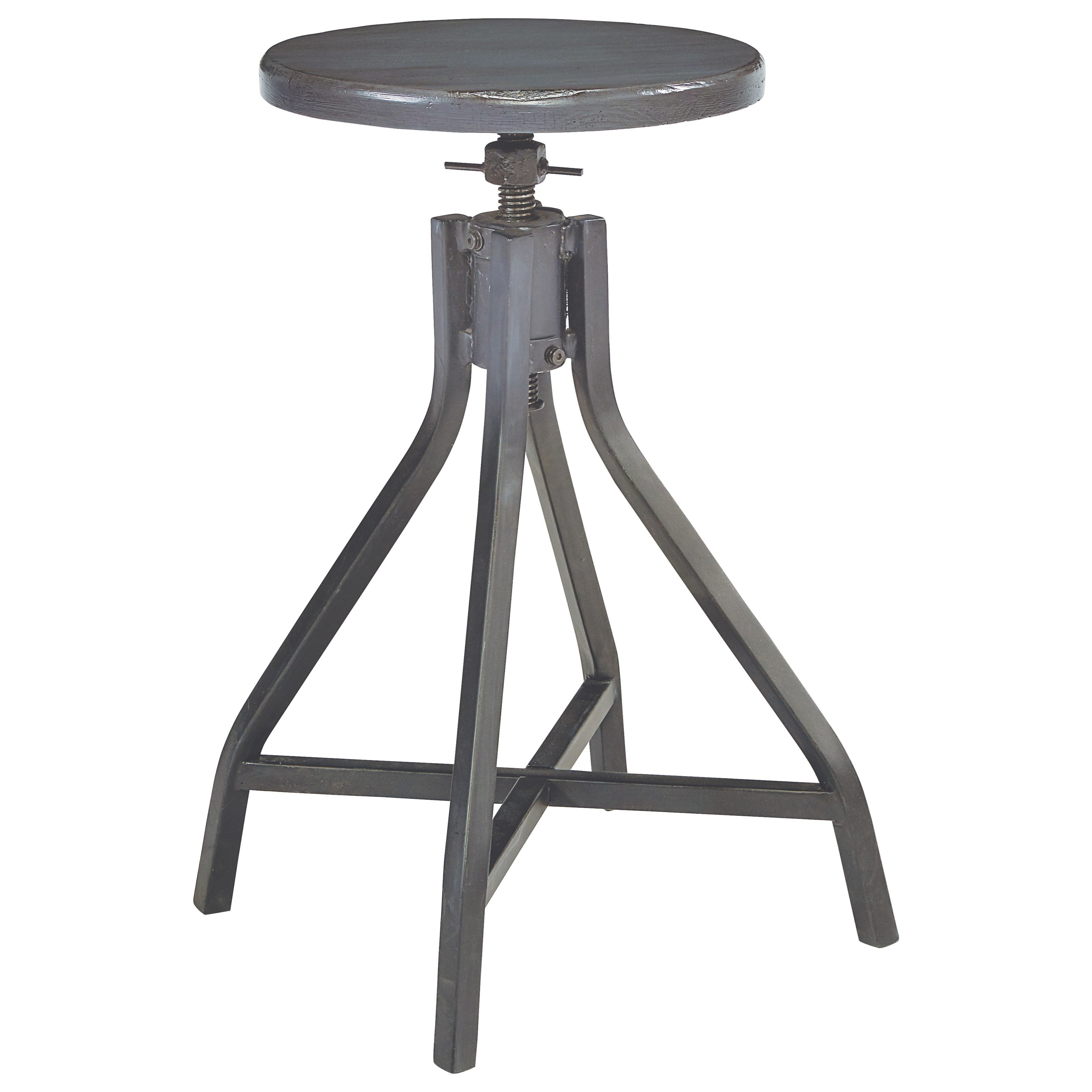 Magnolia Home by Joanna Gaines Accent Elements Industrial Stool - Item Number: 8030104E