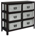 Magnolia Home by Joanna Gaines Accent Elements Metal Storage Chest - Item Number: 8030108M
