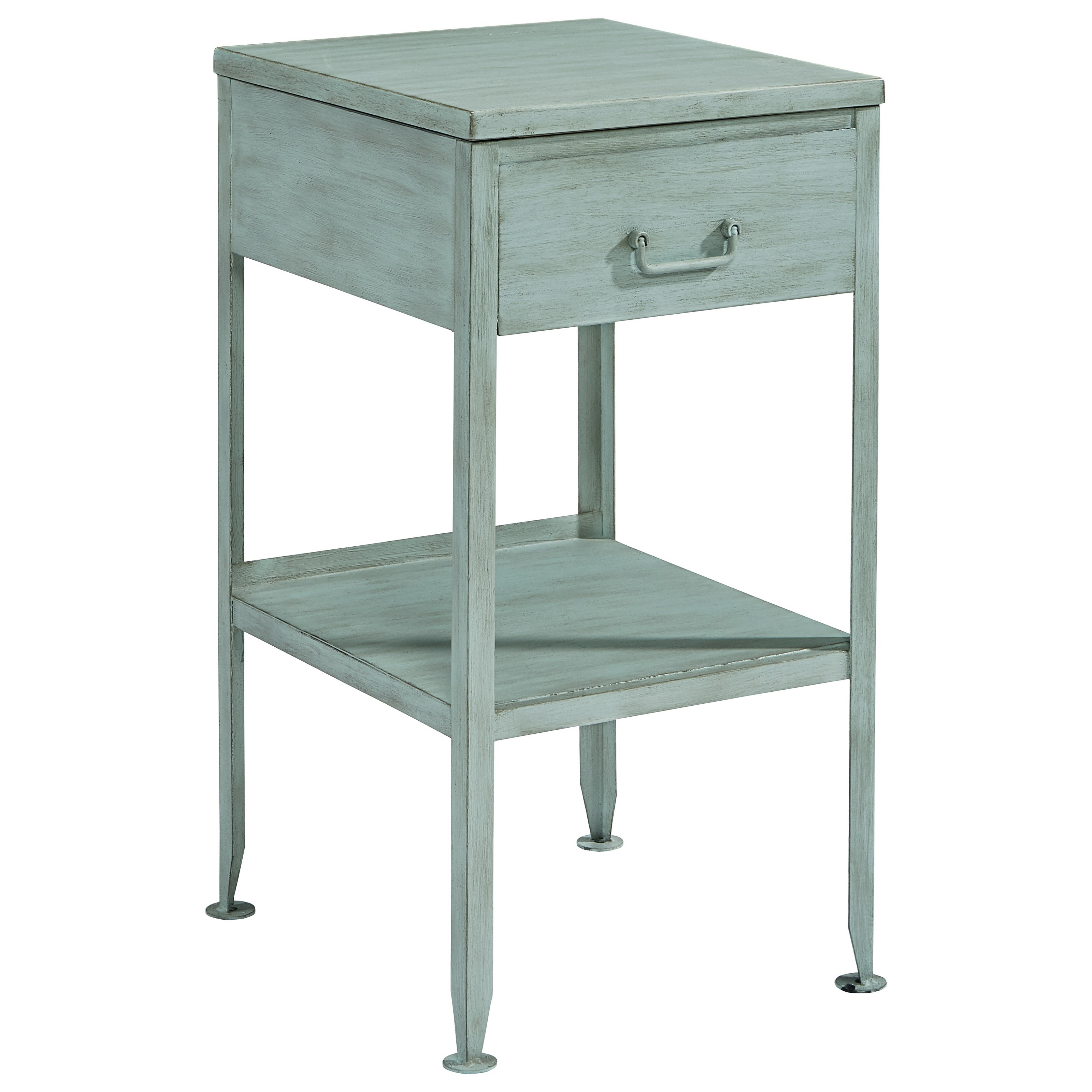 Metal End Tables ~ Magnolia home by joanna gaines accent elements small metal