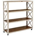 Magnolia Home by Joanna Gaines Accent Elements Large Bookcase - Item Number: 8030206G