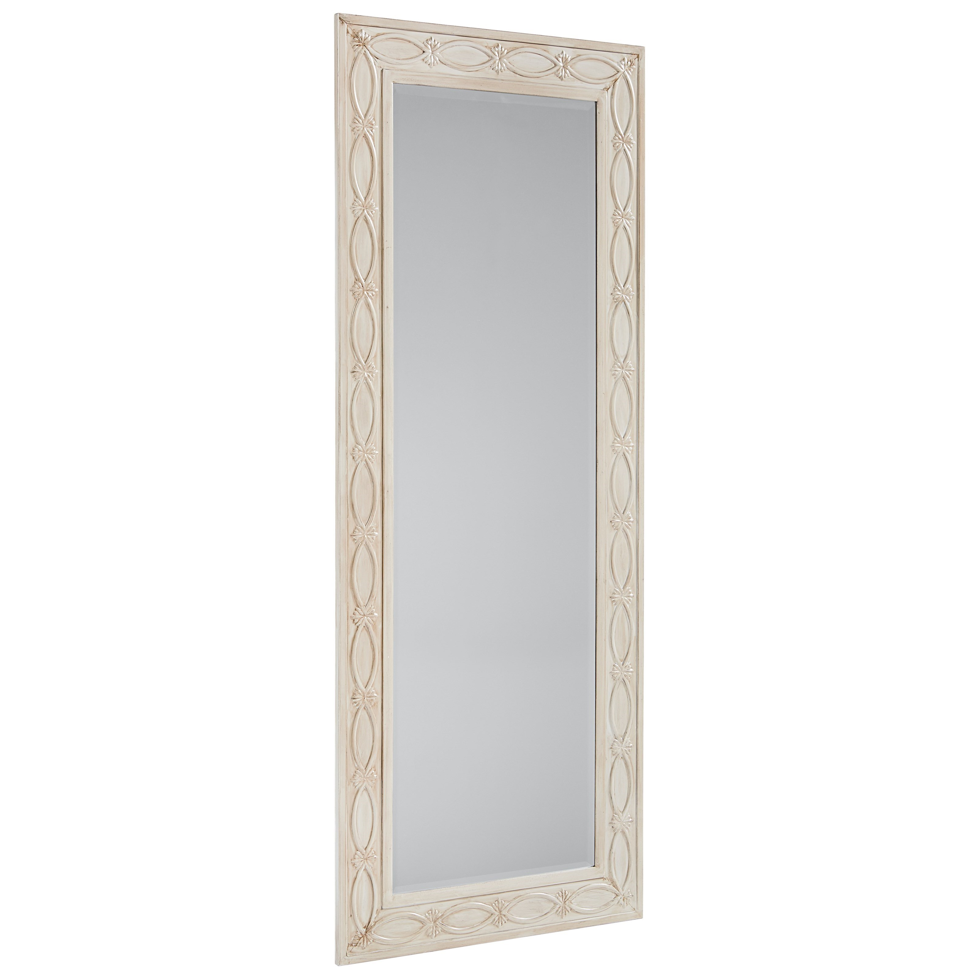 Magnolia Home by Joanna Gaines Accent Elements Tall Zinc Floor Mirror - Item Number: 8030218O