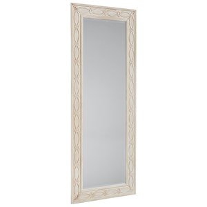 Tall Zinc Floor Mirror