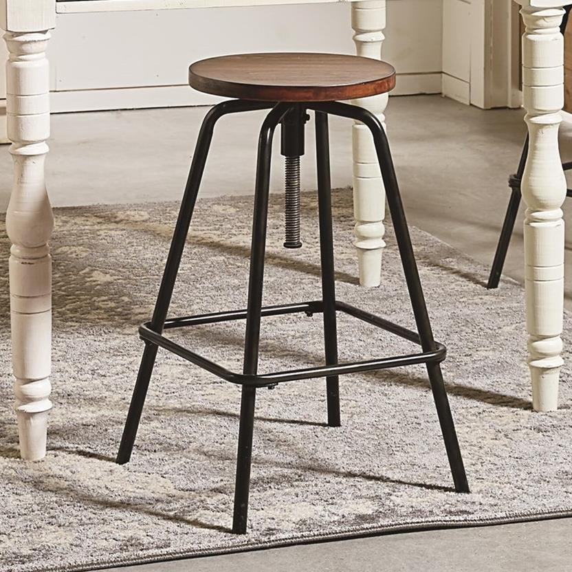 Magnolia Home by Joanna Gaines Accent Elements Round Stool - Item Number: 8030225W