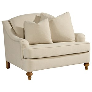 Magnolia Home by Joanna Gaines Adore Chair & 1/2