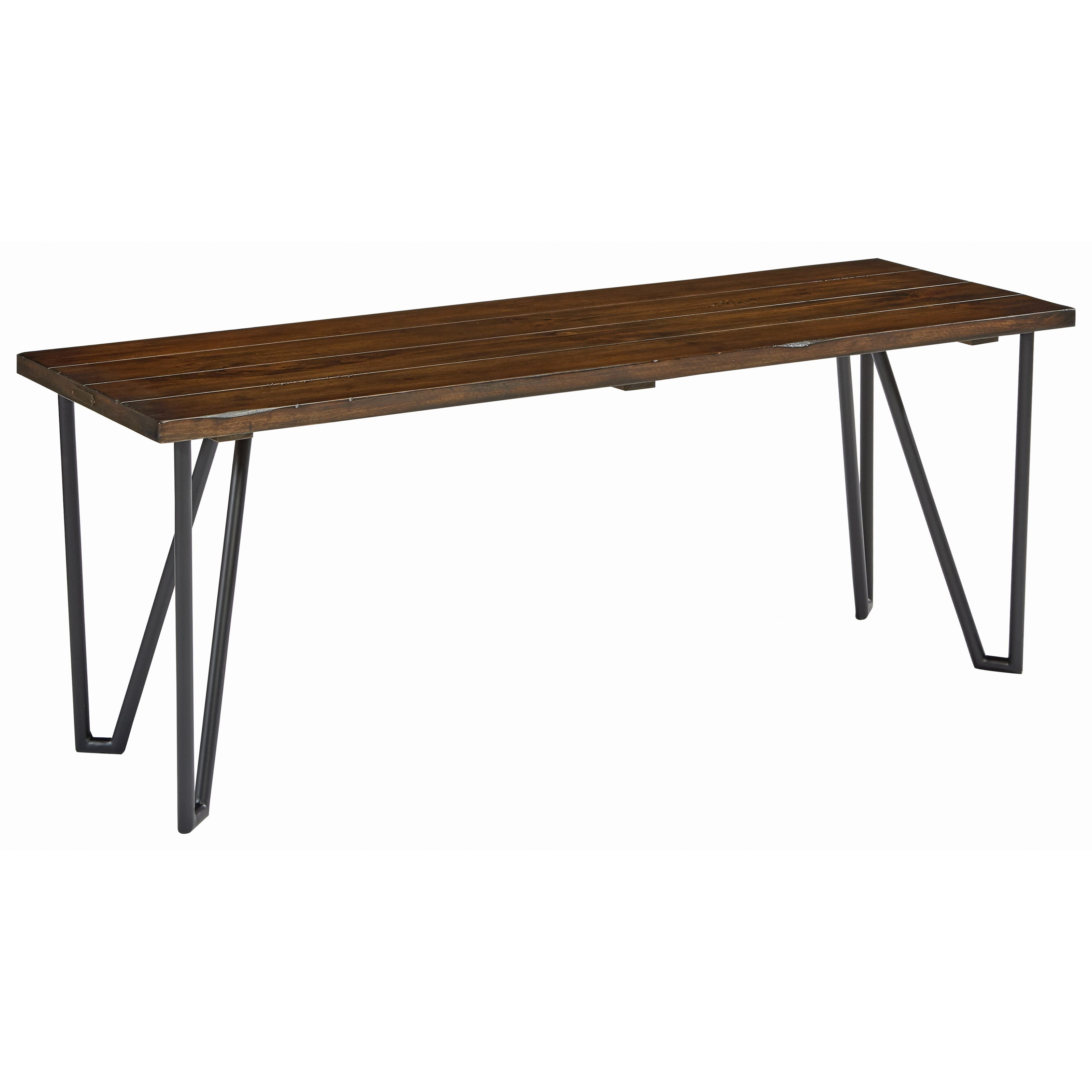 """Magnolia Home by Joanna Gaines Boho 50"""" Hairpin Bench - Item Number: 5010149N"""