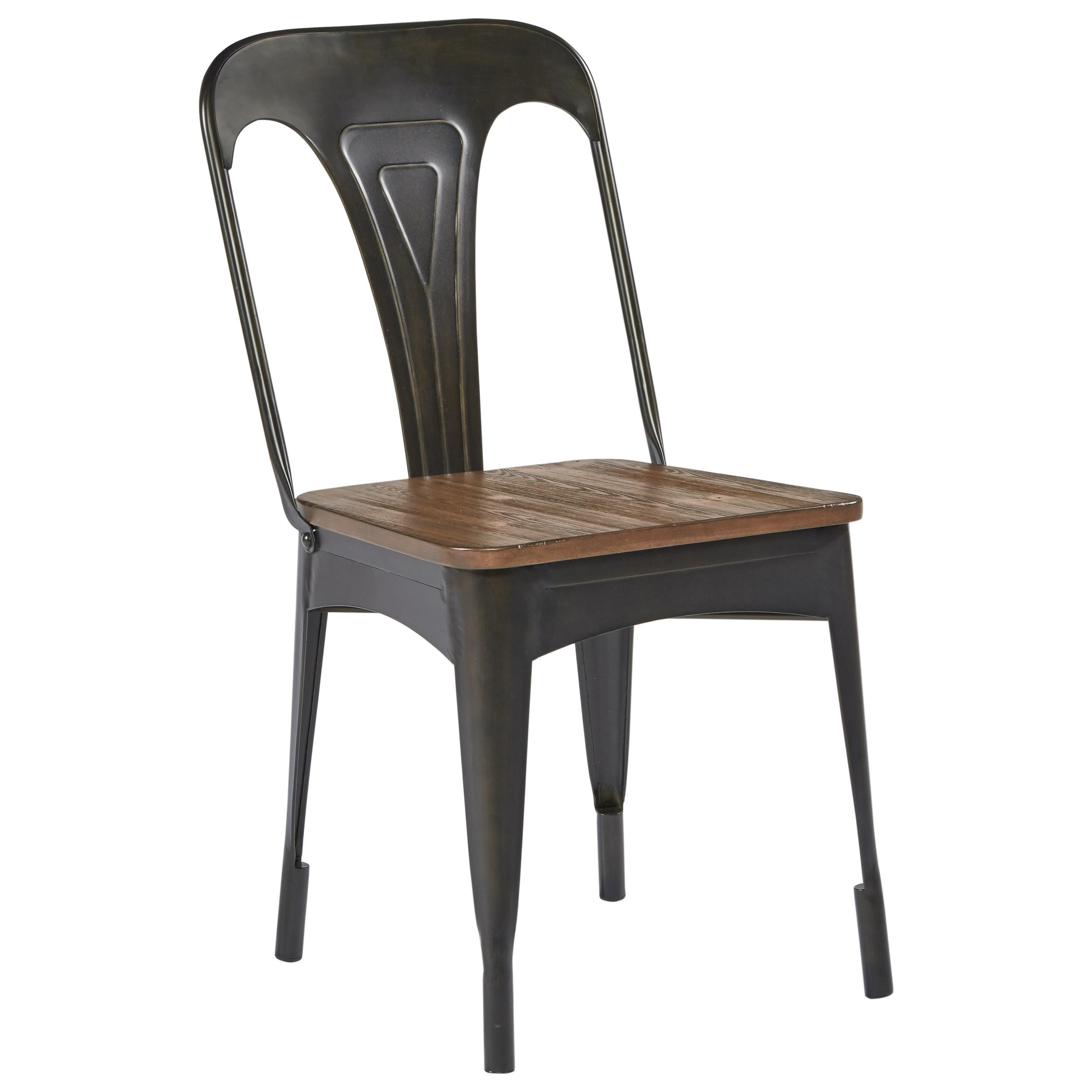 Magnolia Home by Joanna Gaines Boho Metal Cafe Chair - Item Number: 5010801N