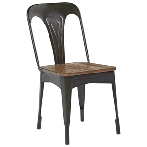 Magnolia Home by Joanna Gaines Boho Metal Cafe Chair