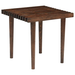 Magnolia Home by Joanna Gaines Boho Slat End Table