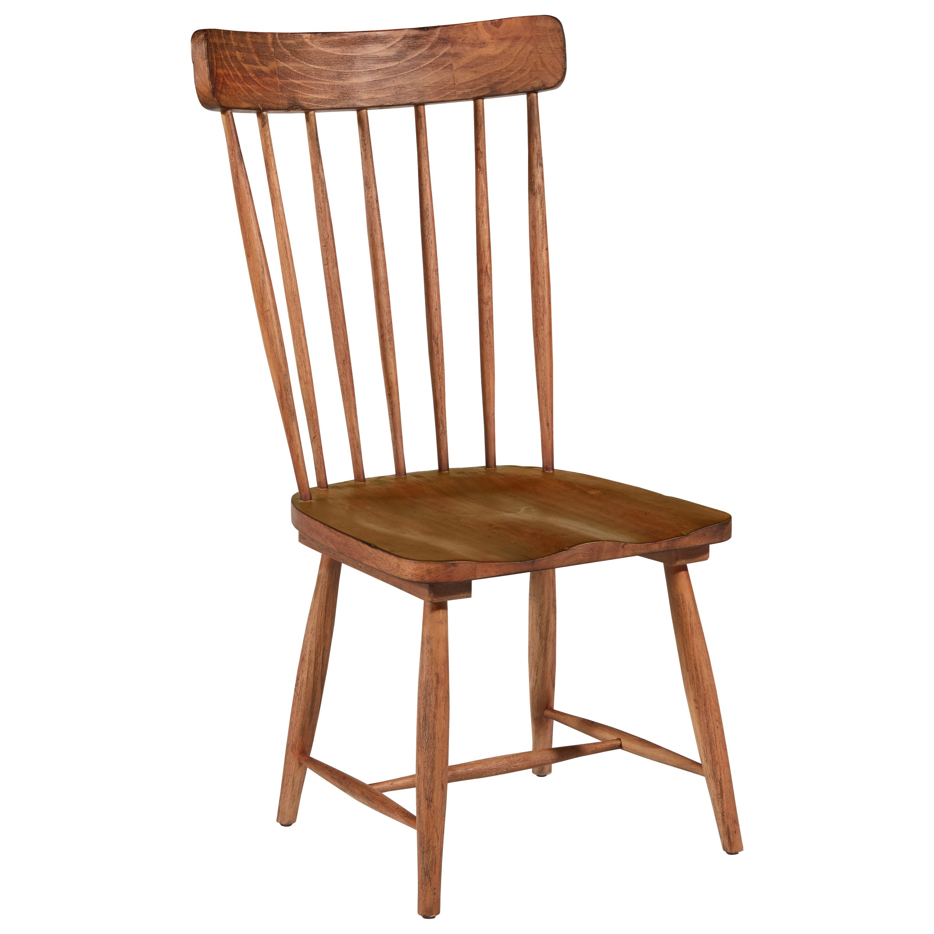 Magnolia Home by Joanna Gaines Farmhouse Spindle Back Side Chair - Item Number: 6010104I