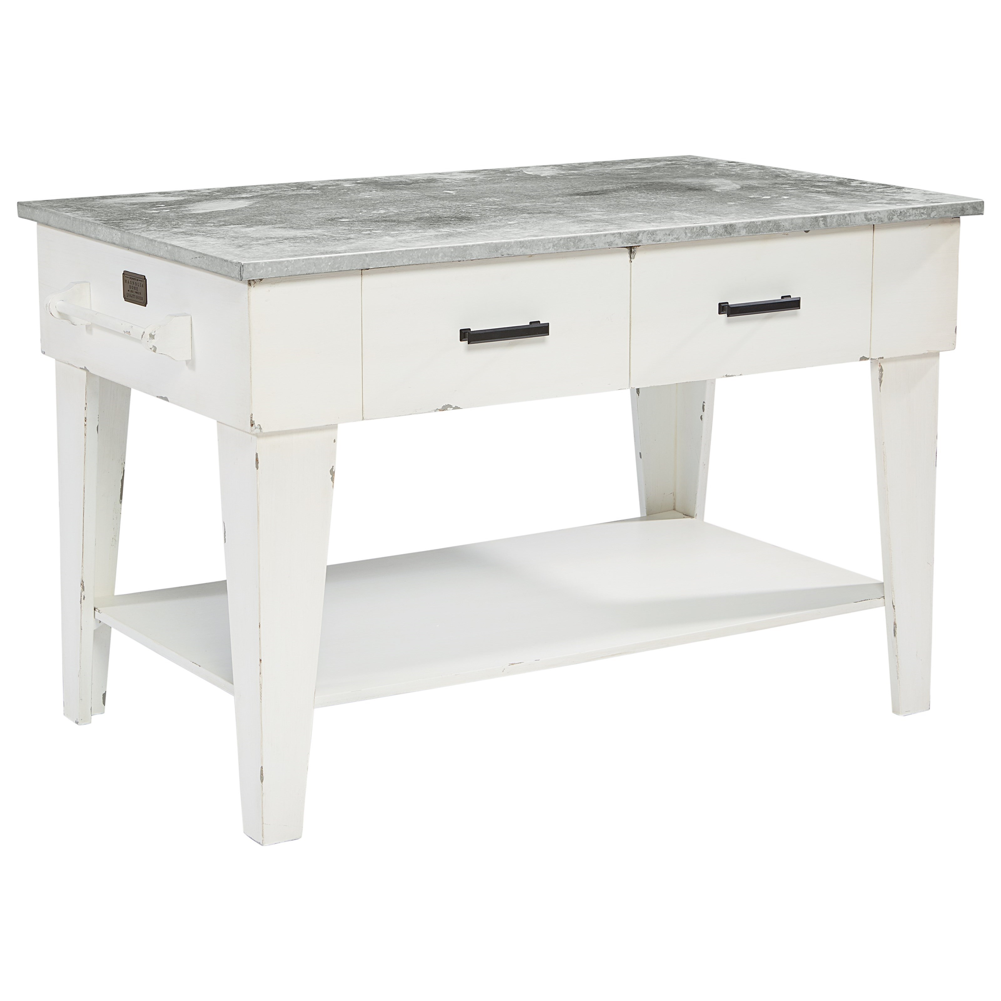 Farmhouse Kitchen Table With Drawers: Magnolia Home By Joanna Gaines Farmhouse Kitchen Island