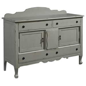 Magnolia Home by Joanna Gaines French Inspired Silhouette Sideboard - Dove Grey