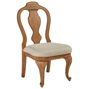 Magnolia Home by Joanna Gaines French Inspired Queen Anne Side Chair