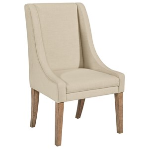 Magnolia Home By Joanna Gaines French Inspired Demi Wing Upholstered Side  Chair