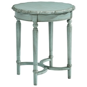 Magnolia Home by Joanna Gaines French Inspired Tall Pie Crust Table