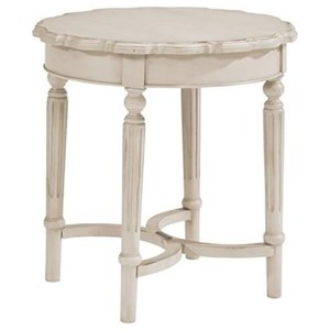 Magnolia Home by Joanna Gaines French Inspired Short Pie Crust Table