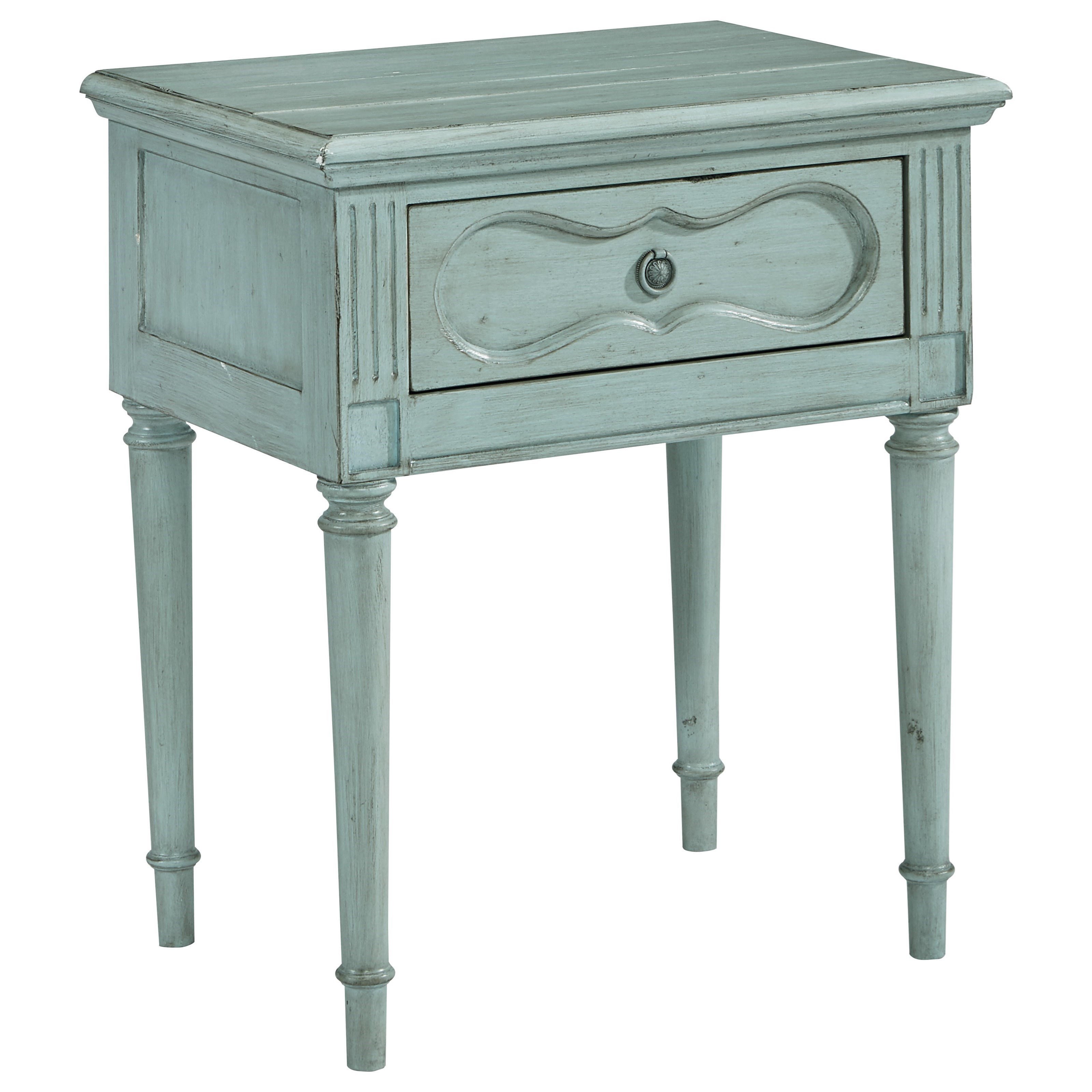 Magnolia Home by Joanna Gaines French Inspired Cameo Night Table - Item Number: 3070507D