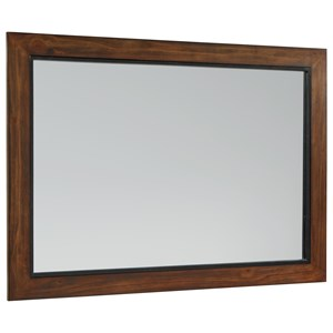 Magnolia Home by Joanna Gaines Industrial Wood Framed Mirror