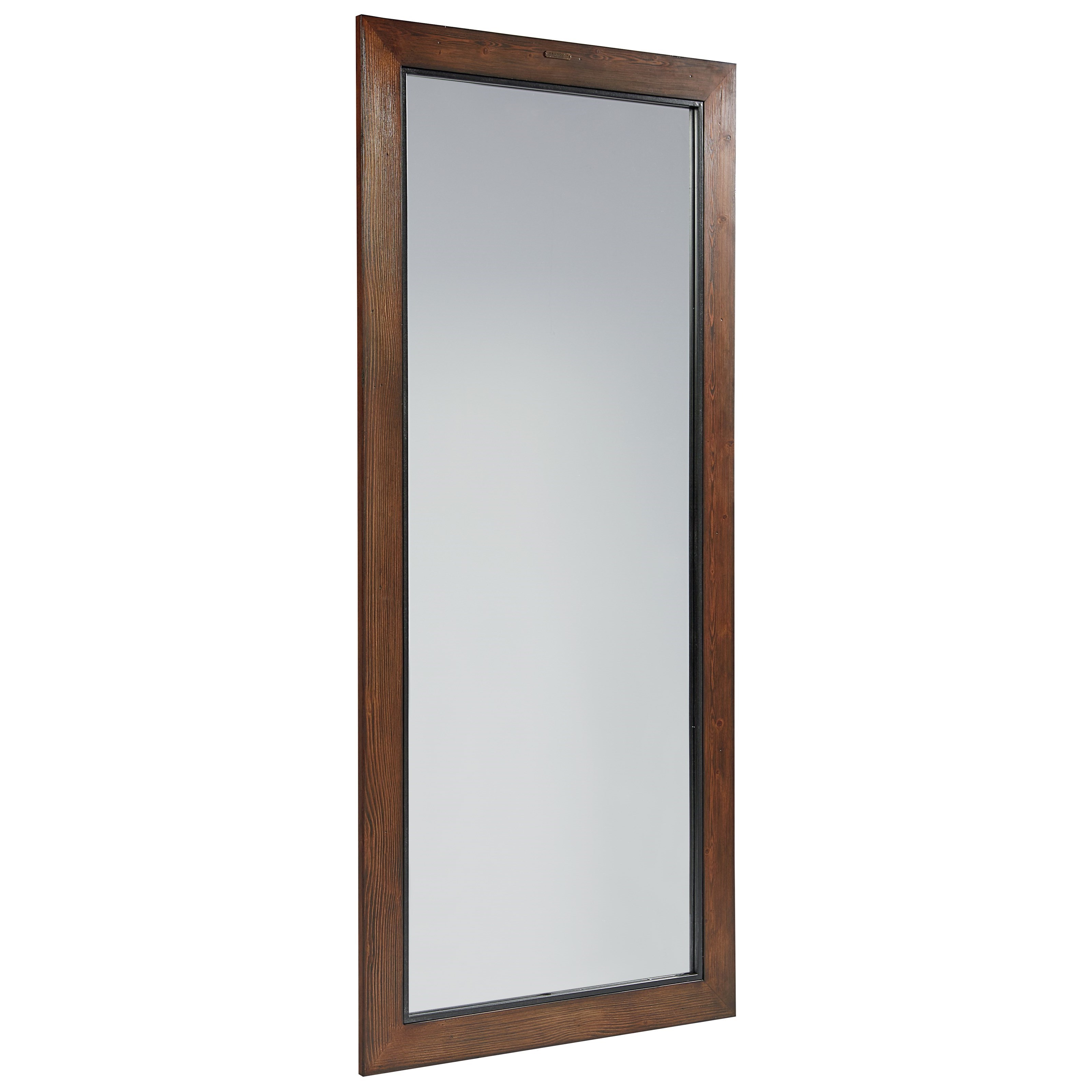 Standing Wood Framed Mirror