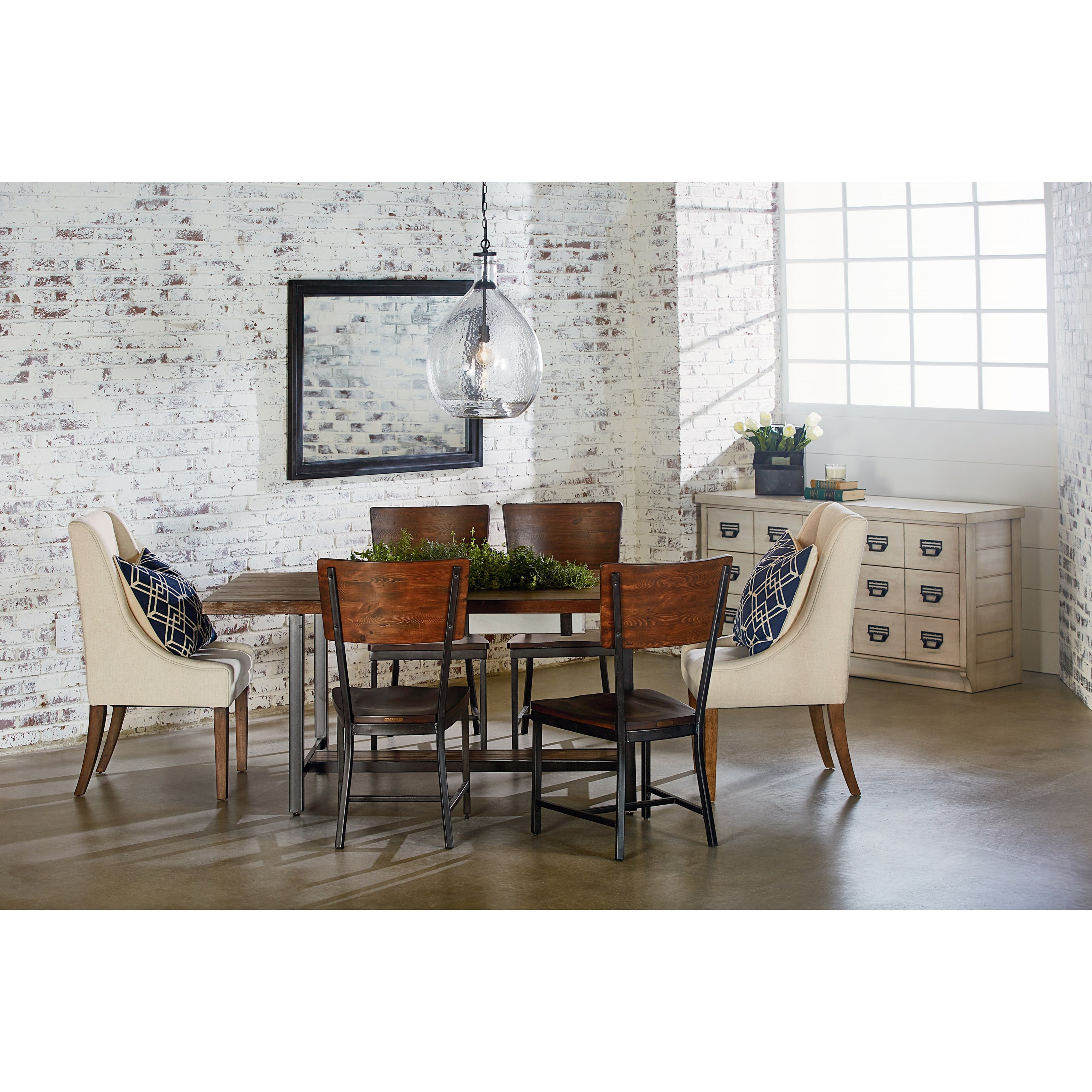 Magnolia Home by Joanna Gaines Industrial Industrial Dining ...