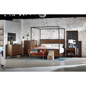 Magnolia Home by Joanna Gaines Industrial Queen Bedroom Group