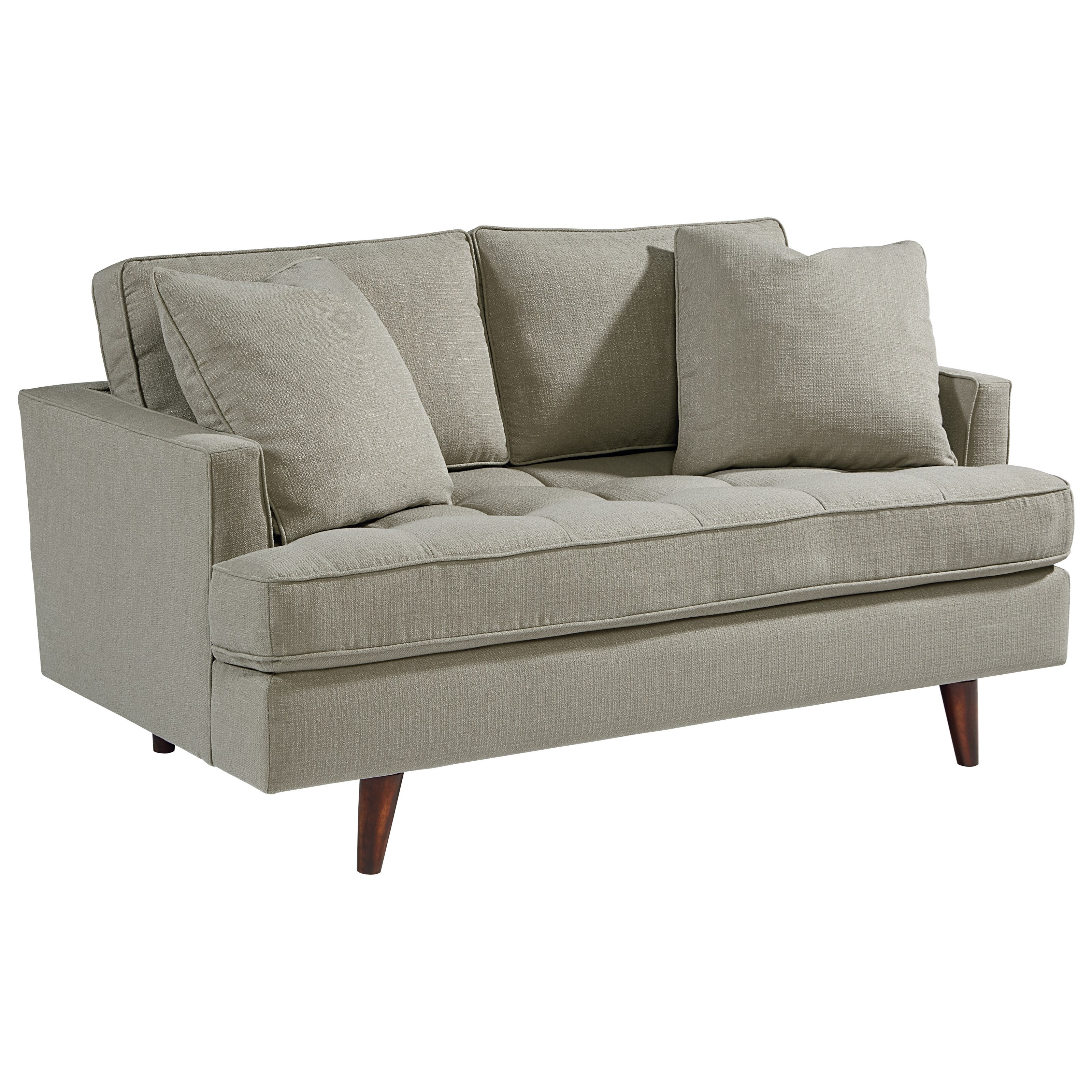 MCM Loveseat by Magnolia Home by Joanna Gaines at Fashion Furniture