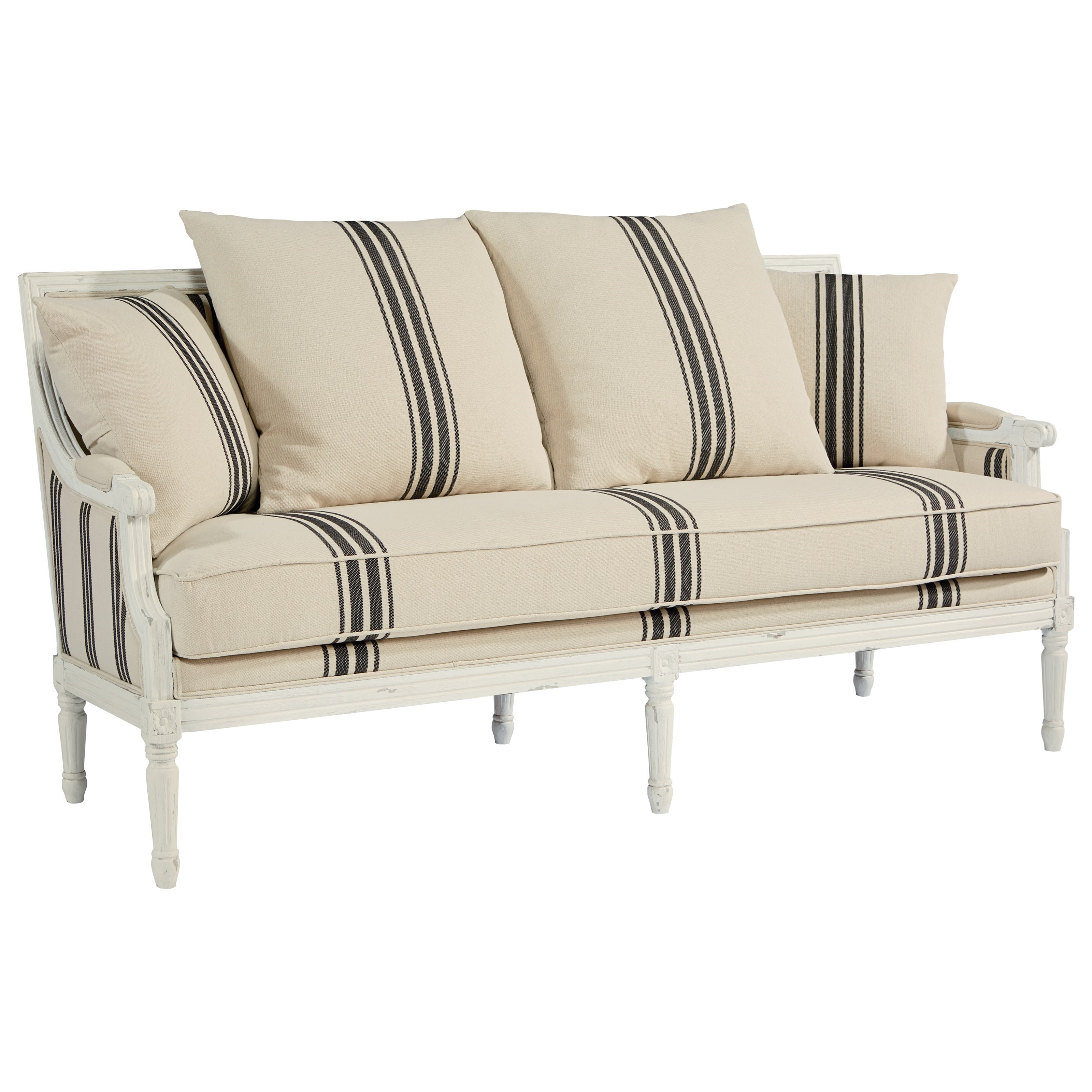 Magnolia Home by Joanna Gaines Parlor Settee Sofa - Item Number: 55508301