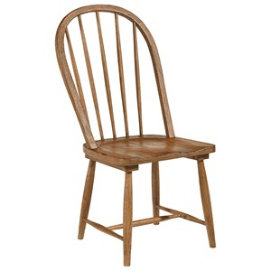 Magnolia Home by Joanna Gaines Primitive Windsor Hoop Chair