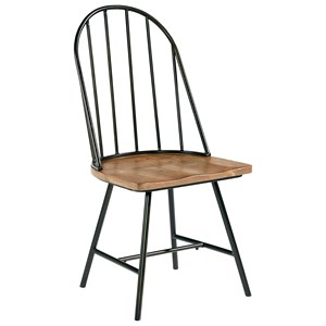 Magnolia Home by Joanna Gaines Primitive Metal Hoop Chair