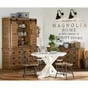 Magnolia Home by Joanna Gaines Primitive Metal Hoop Chair