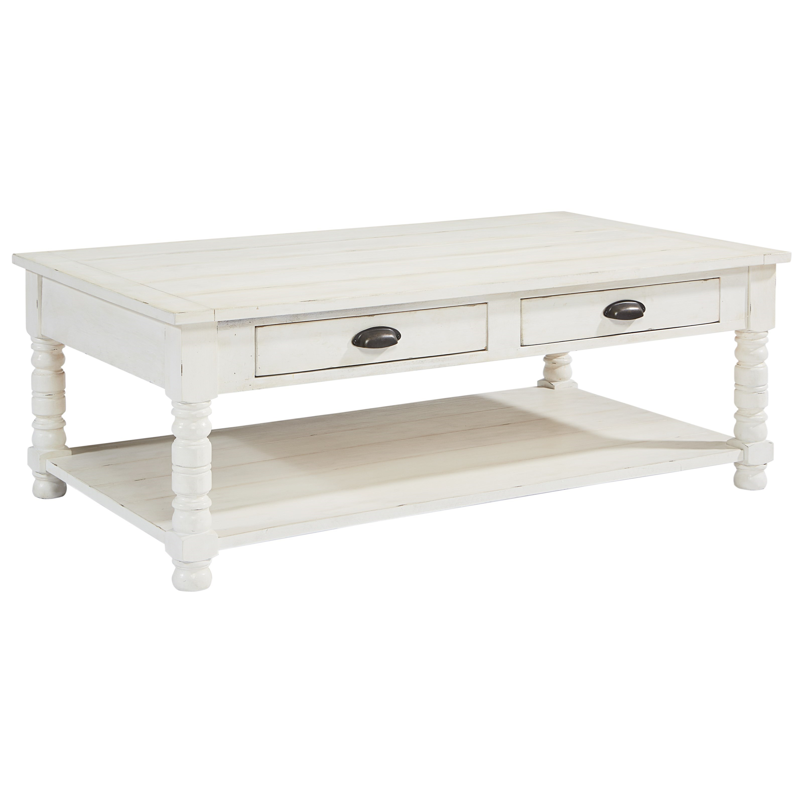 Magnolia Home by Joanna Gaines Primitive Bobbin Cofee Table - Item Number: 2020101B