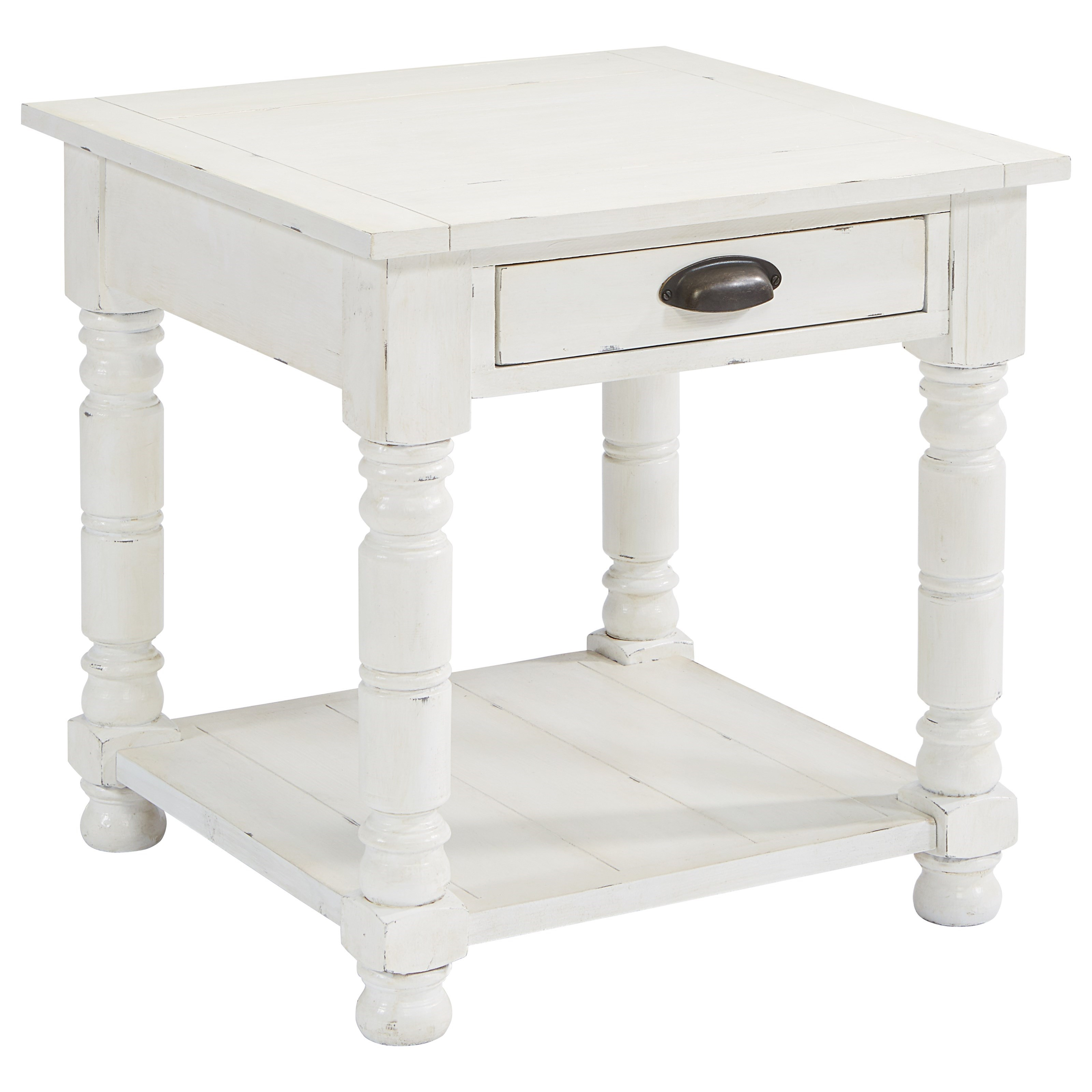 Magnolia Home By Joanna Gaines Primitive Bobbin Side Table