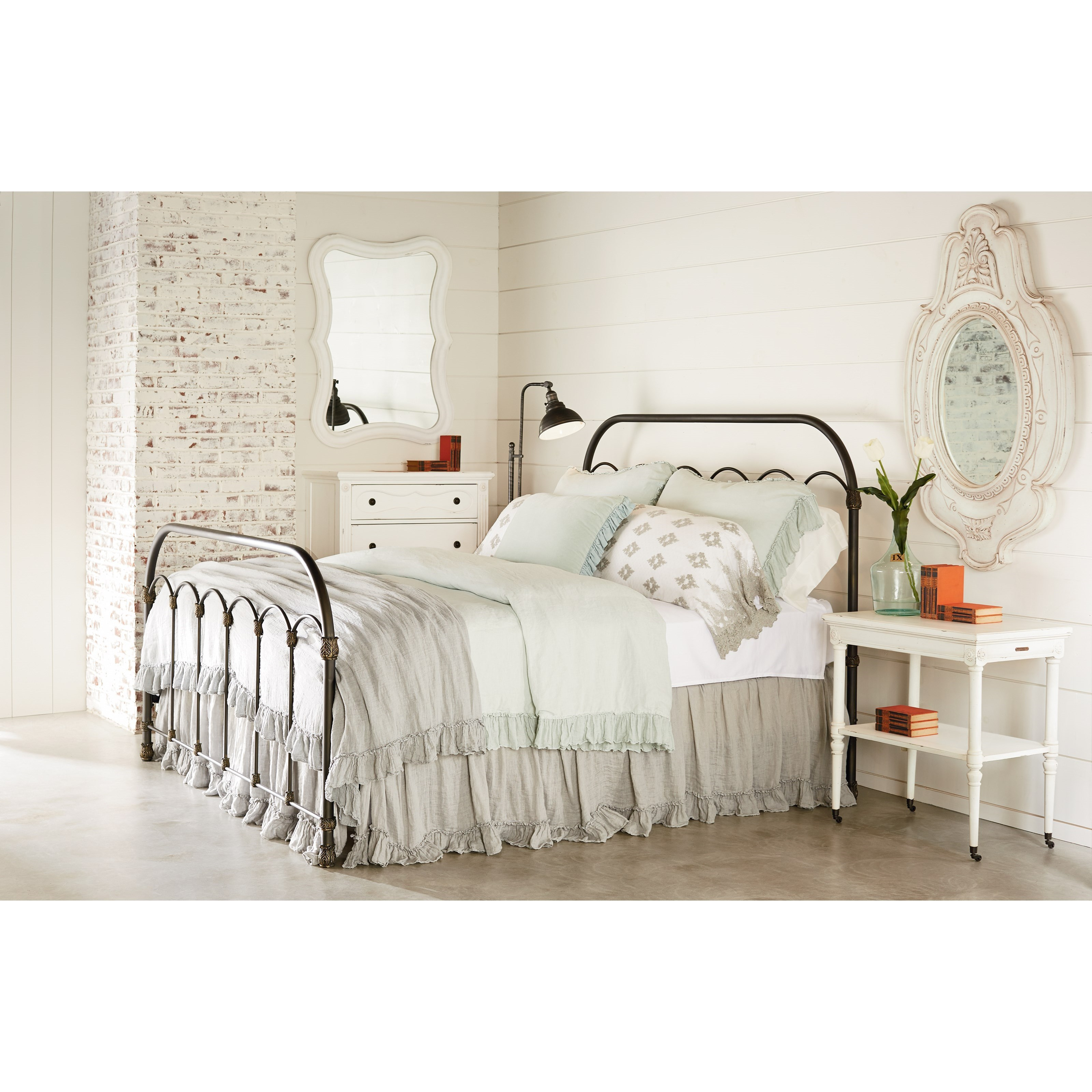 Primitive King Bedroom Group by Magnolia Home by Joanna Gaines at Jacksonville Furniture Mart
