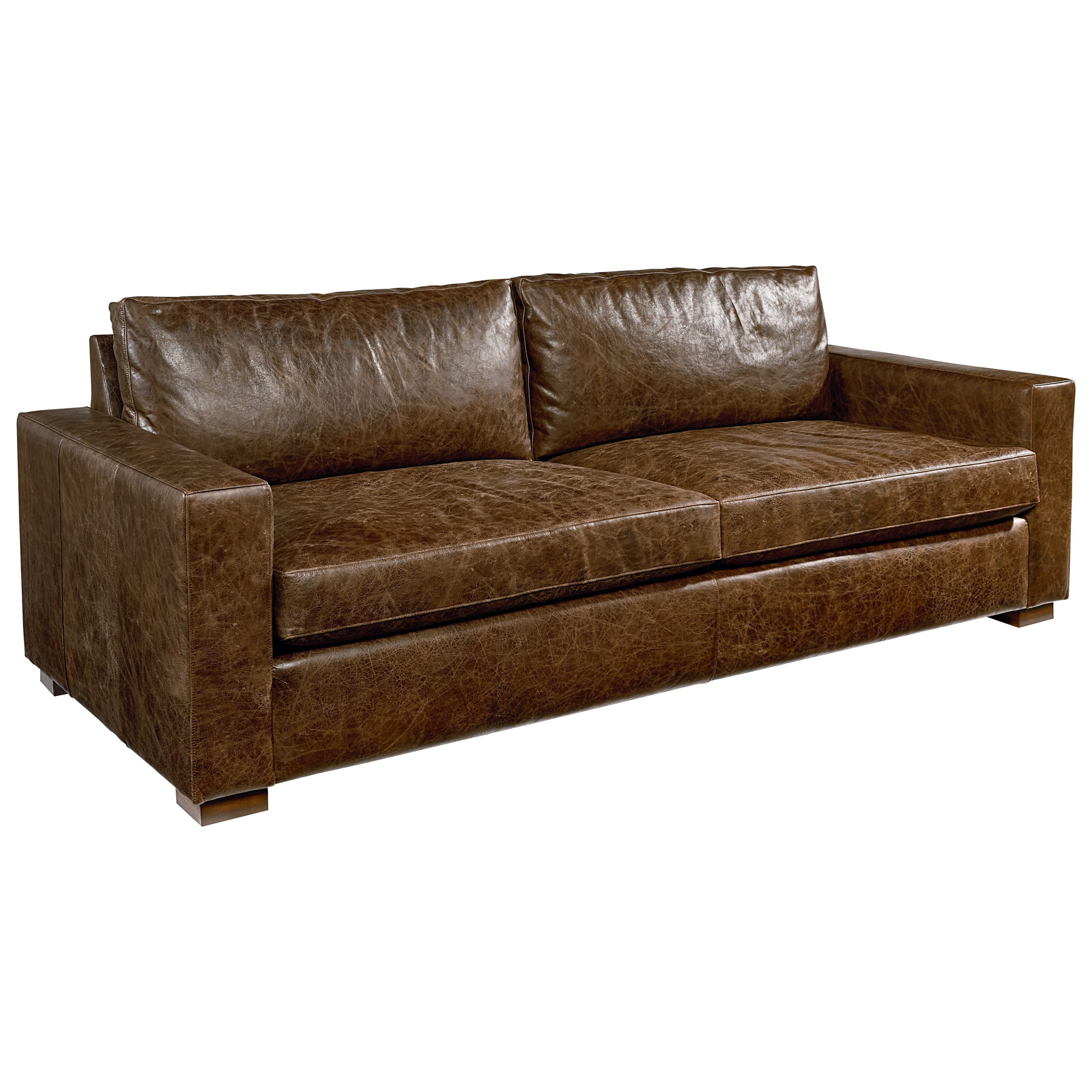 Magnolia Home by Joanna Gaines Southern Sown Leather Sofa