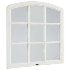 Magnolia Home by Joanna Gaines Traditional Belgian Window Mirror