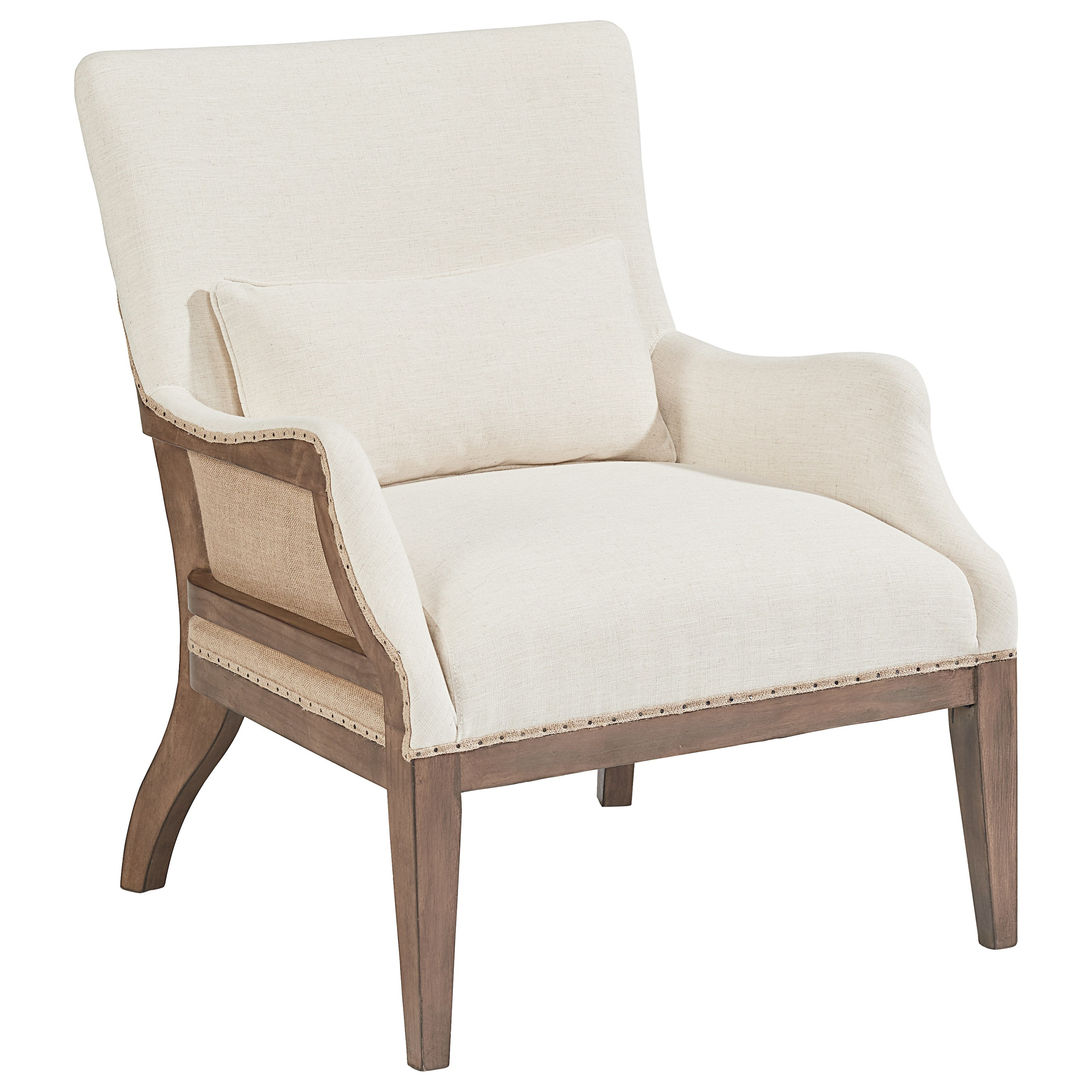 magnolia home by joanna gaines accent chairs renew accent chair  - magnolia home by joanna gaines accent chairs accent chair with kidneypillow  item number