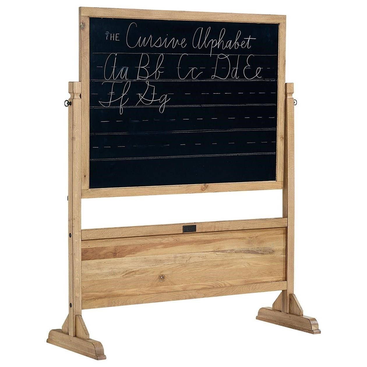 Magnolia Home by Joanna Gaines Accent Elements Homeroom Standing Chalkboard  - Item Number: 8031916Y