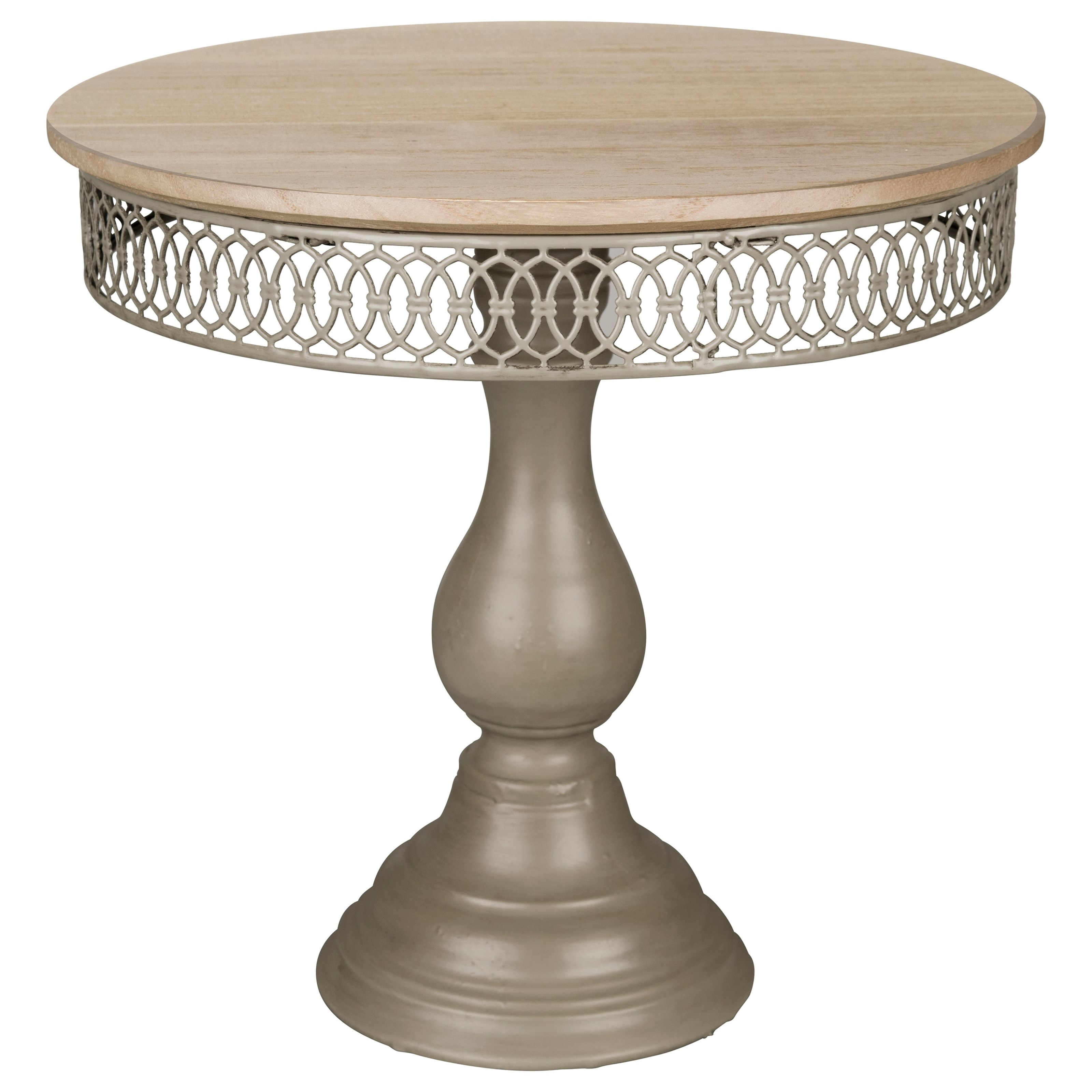Magnolia Home by Joanna Gaines Accessories Filigree Dessert Pedestal Small - Item Number: 90900014