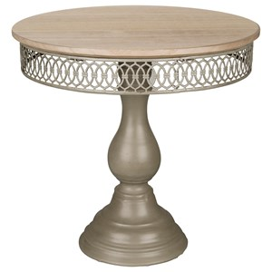 Magnolia Home by Joanna Gaines Accessories Filigree Dessert Pedestal Small