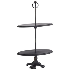Magnolia Home by Joanna Gaines Accessories Antique Two-Tier Stand