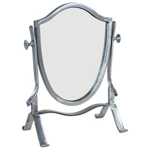 Magnolia Home by Joanna Gaines Accessories Black Metal Vanity Mirror