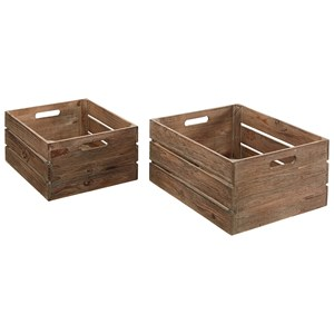 Magnolia Home by Joanna Gaines Accessories Harvest Crates
