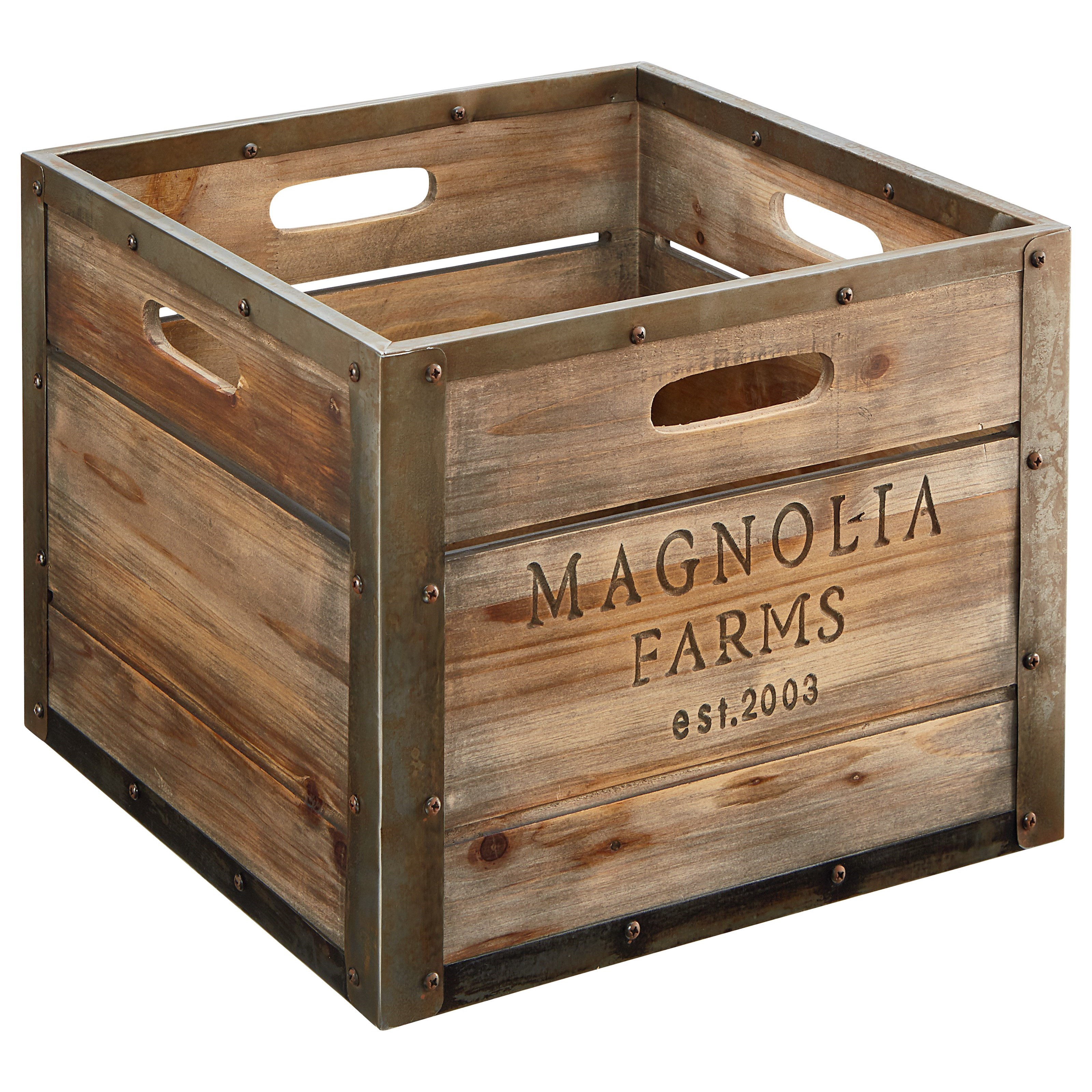 Magnolia Home by Joanna Gaines Accessories Magnolia Farms Produce Crate - Item Number: 90900513