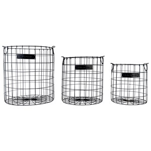 Magnolia Home by Joanna Gaines Accessories Wire Checker Baskets