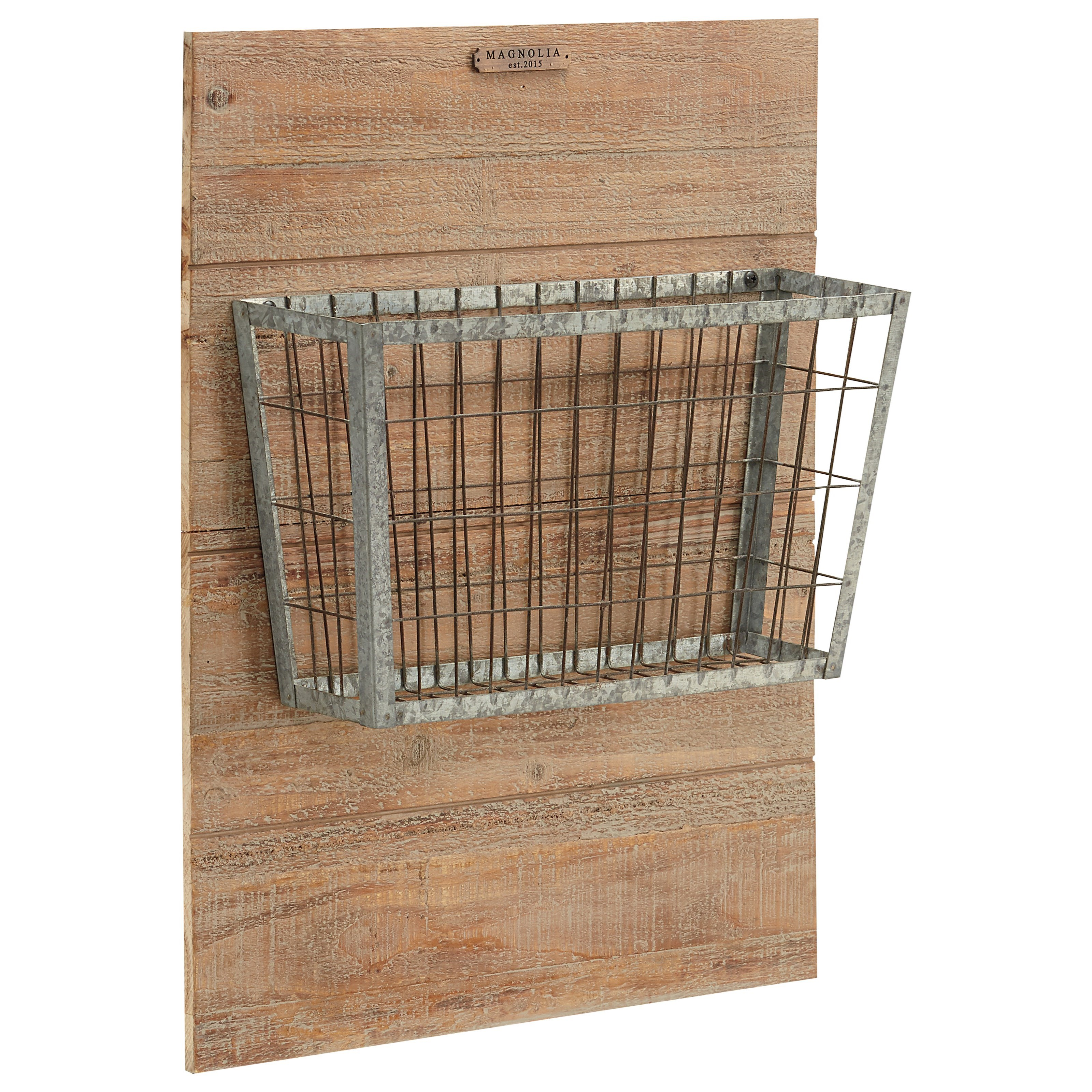 Magnolia Home by Joanna Gaines Accessories 90901513 Metal Basket On ...