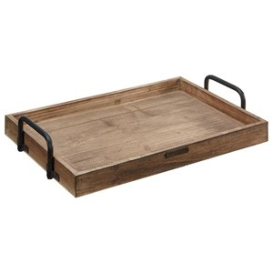 Rectangular Wood Tray