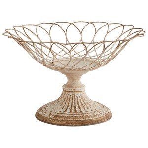 Magnolia Home by Joanna Gaines Accessories Small Aged Wire Footed Urn