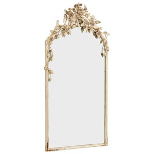Magnolia Home by Joanna Gaines Accessories Metal Framed Floral Mirror