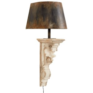 Magnolia Home by Joanna Gaines Accessories Wood Corbel Sconce