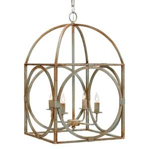 Magnolia Home by Joanna Gaines Accessories Metal Birdcage Chandelier